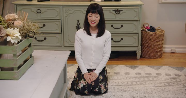 "A still from Netflix's ""Tidying Up with Marie Kondo."""