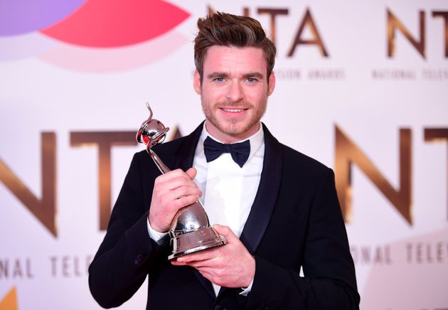 Richard Madden with his