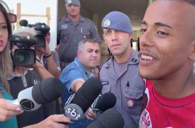 Caio Santos de Oliveira, de 20 anos, confessou ter assassinado Kelly e disse à imprensa que