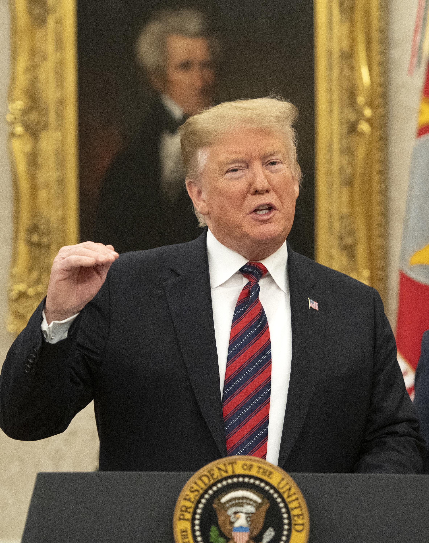 트럼프가 민주당에 제시한 '국경장벽 타협안'의