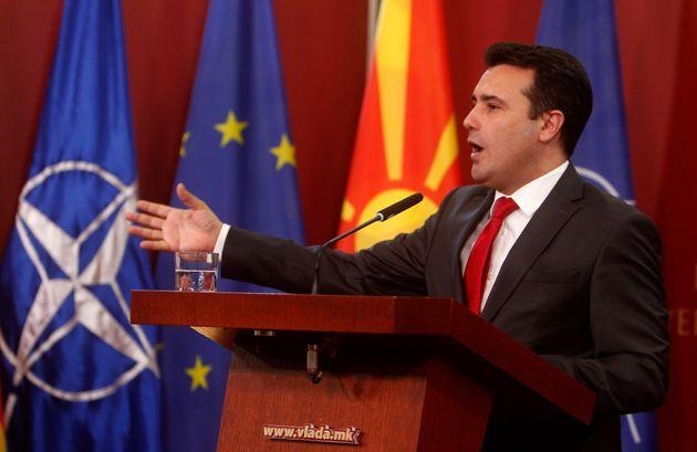 Ικανοποίηση Ζάεφ για την έγκρισης της Συμφωνίας των Πρεσπών από την Επιτροπή της Βουλής