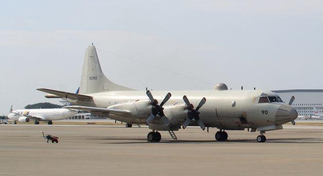 일본 해상자위대 소속 해상초계기인 P-3C 해상초계기. 해상자위대는 이 P-3C 초계기를 70대 남짓 보유하고