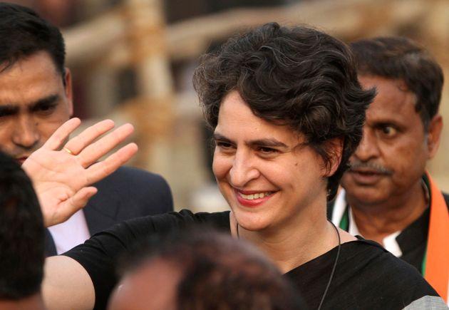 A file image ofPriyanka Gandhi