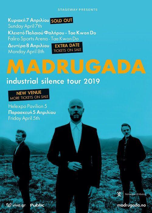 Έξτρα συναυλία για τους Madrugada στην Αθήνα μετά το sold