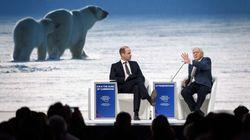 A Davos, l'élite se préoccupe du climat mais vole en jet