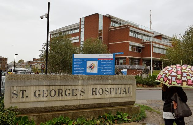 The patients were treated in the cardiac unit at St George's University Hospitals NHS Foundation...