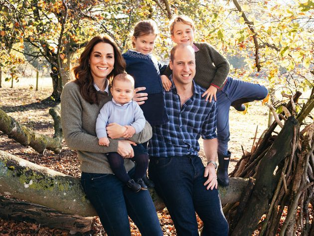 The royals' Christmas card for