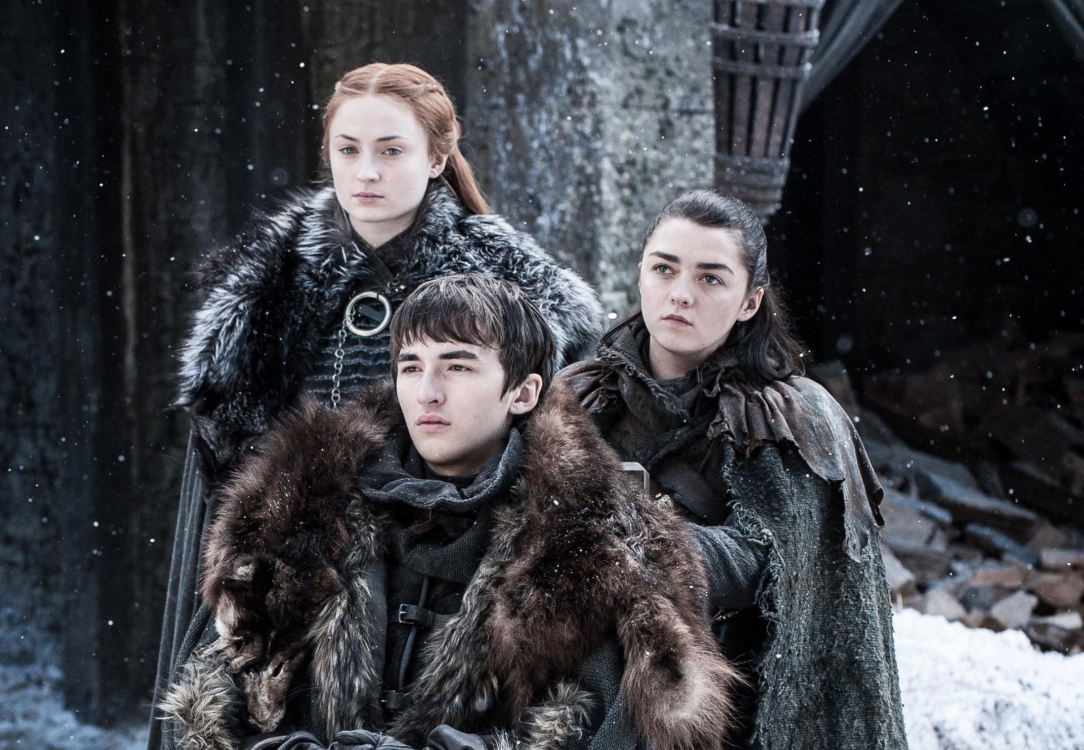 The Stark sisters have pretty good chances of surviving, compared with many other main characters.