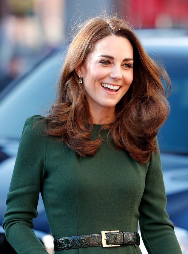 The Duchess of Cambridge visits Family Action to launch a new national support line on Jan. 22 in Lewisham,...