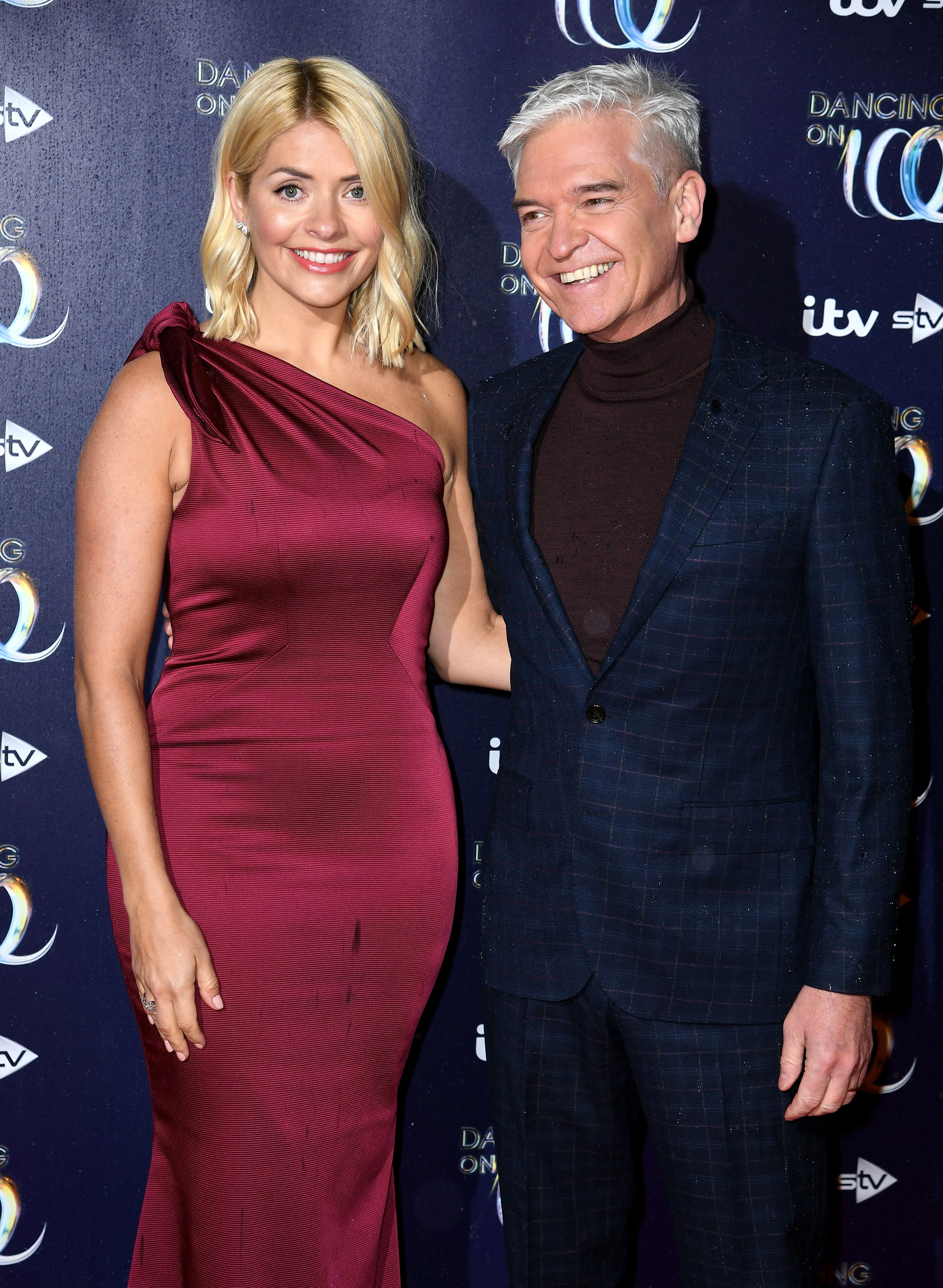 Holly Willoughby and Phillip