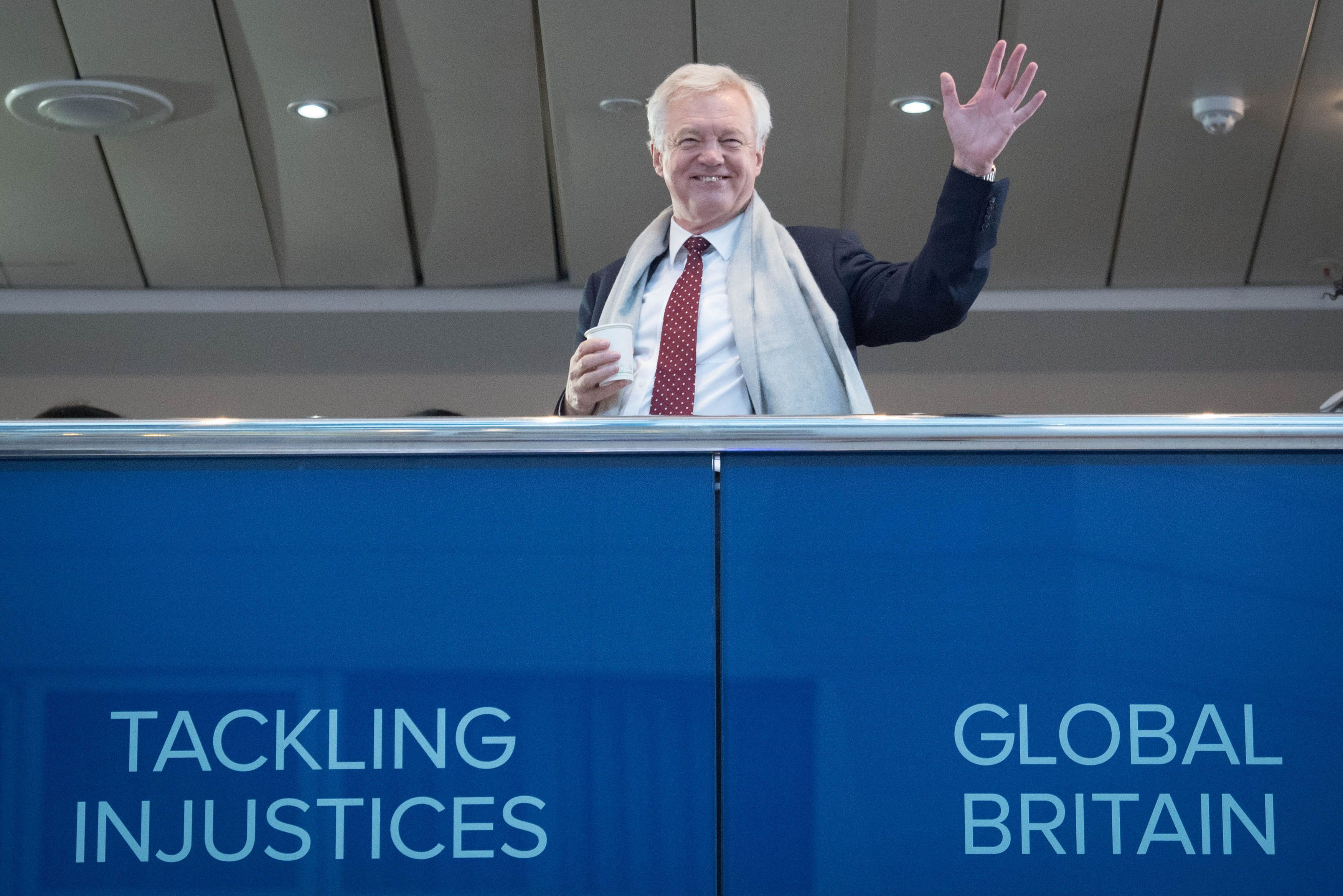 David Davis Reveals £3,000-An-Hour Job With Firm Led By No-Deal Brexit