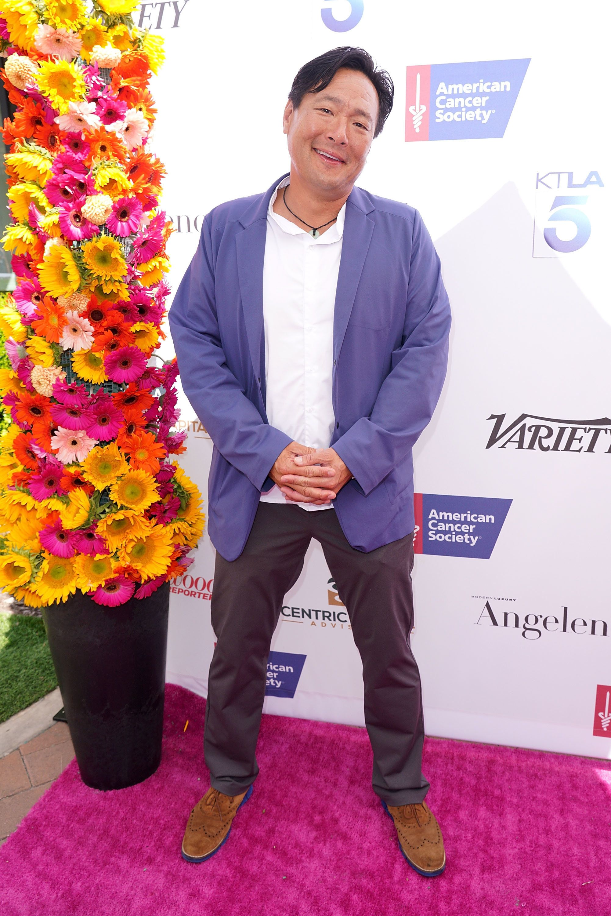 CULVER CITY, CA - JULY 15:  Chef Ming Tsai, 2018 Impact Award Honoree attends American Cancer Society's California Spirit 33 Gourmet Garden Party at Sony Pictures Studios on July 15, 2018 in Culver City, California.  (Photo by JC Olivera/Getty Images)