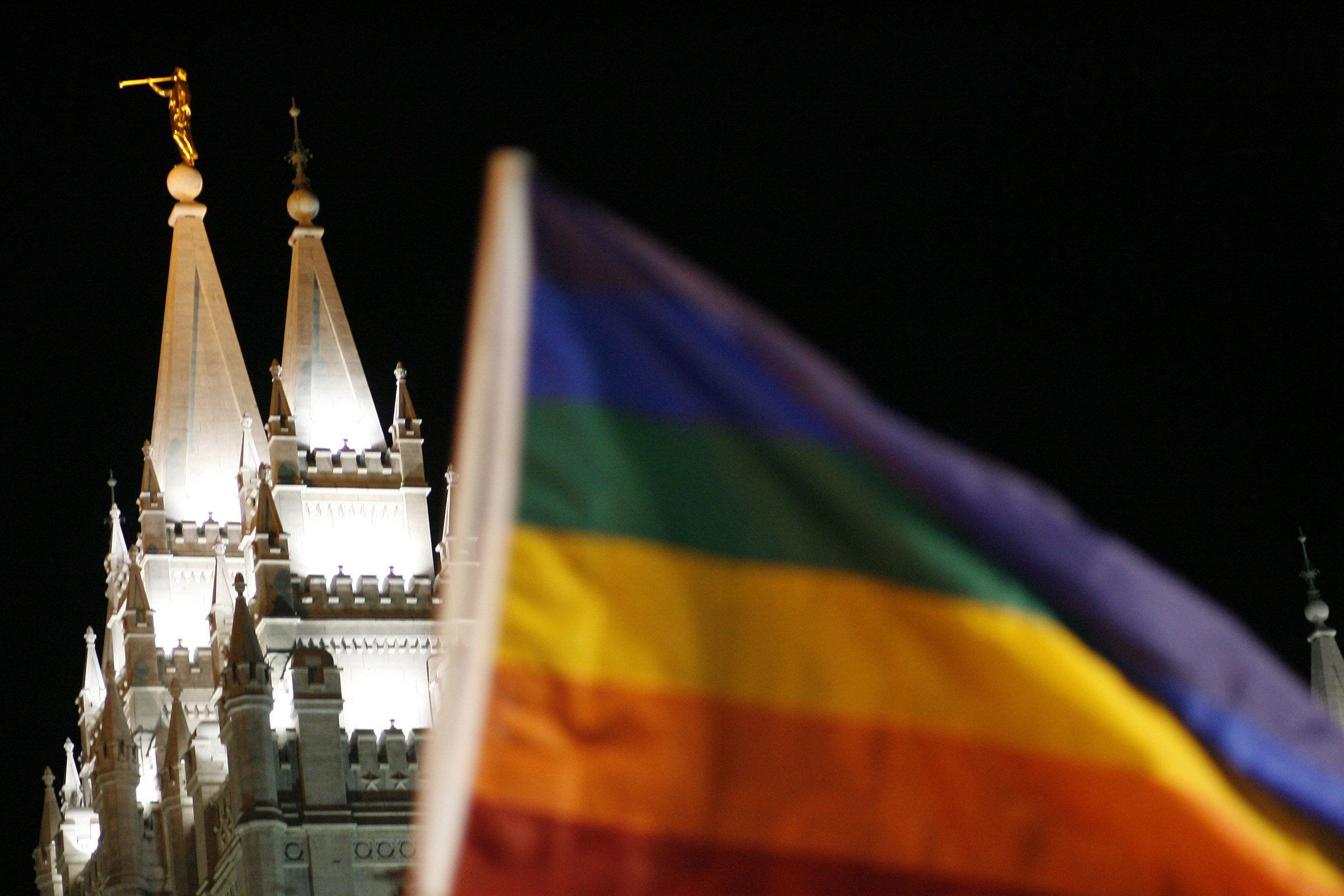 """I realized that it was time for me to affirm myself as gay,"" wrote David Matheson, a practicing Mormon who used t"