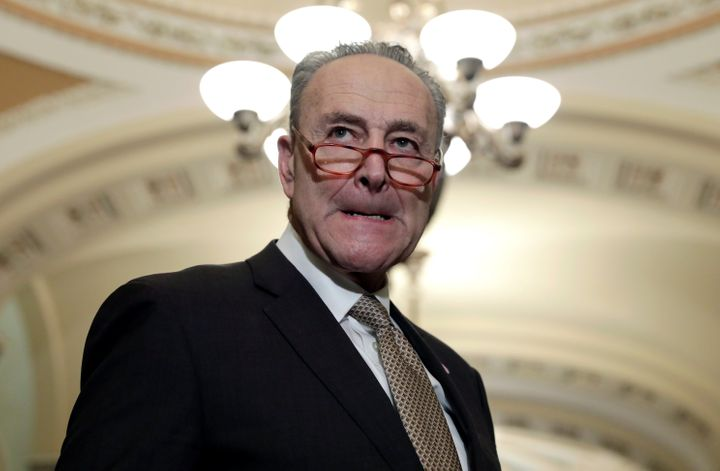 Majority Forward, a liberal group controlled by allies of Senate Majority Leader Chuck Schumer, spent $46 million during the