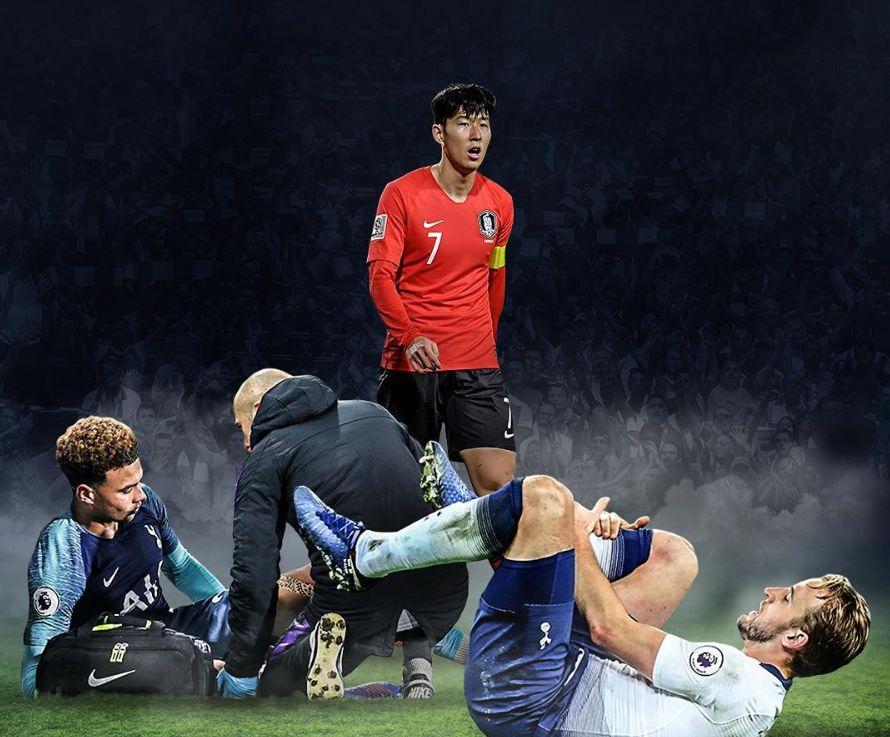 영국 언론 사진이 설명한 손흥민과 토트넘의