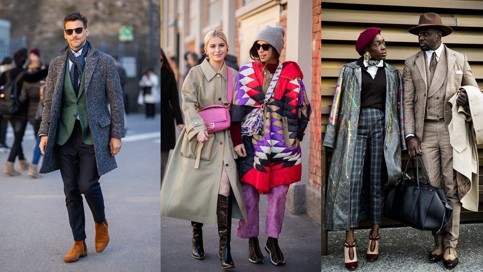 어떤 계절에도 '멋'을 잃지 않는 이탈리아 스트리트 패션