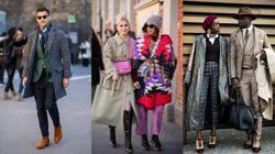 겨울에도 '멋'을 잃지 않은 이탈리아 스트리트 패션