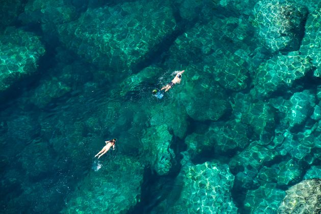 타히티섬에서 인생 샷 건지는