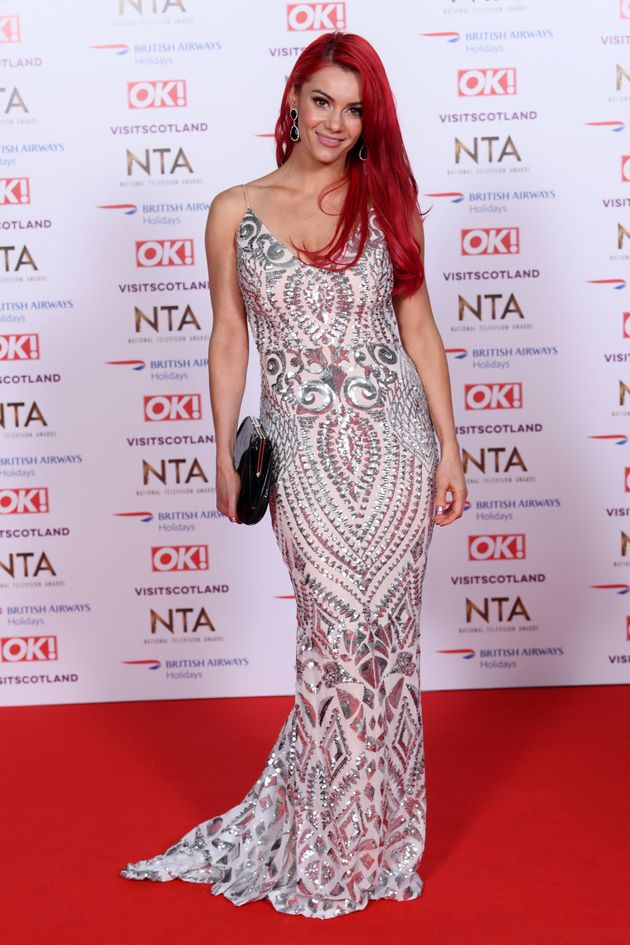 Dianne attended the NTAs without her