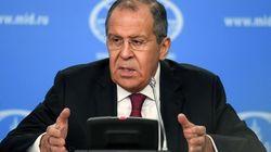 Le ministre des Affaires Étrangères russe attendu au