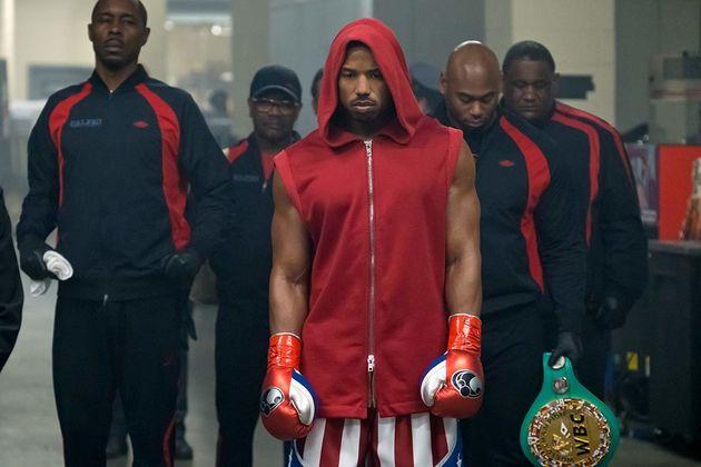 Em Creed II, Adonis (Michael B. Jordan) vira um atleta