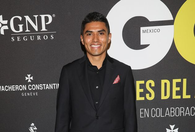 GQ멕시코 '2018 올해의 남자' 시상식에 참석한호르헤 안토니오 게레로. 멕시코시티, 멕시코. 2018년