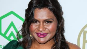 BEVERLY HILLS, LOS ANGELES, CA, USA - JANUARY 19: Actress Mindy Kaling arrives at the 30th Annual Producers Guild Awards held at The Beverly Hilton Hotel on January 19, 2019 in Beverly Hills, Los Angeles, California, United States. (Photo by Xavier Collin/Image Press Agency/Sipa USA)