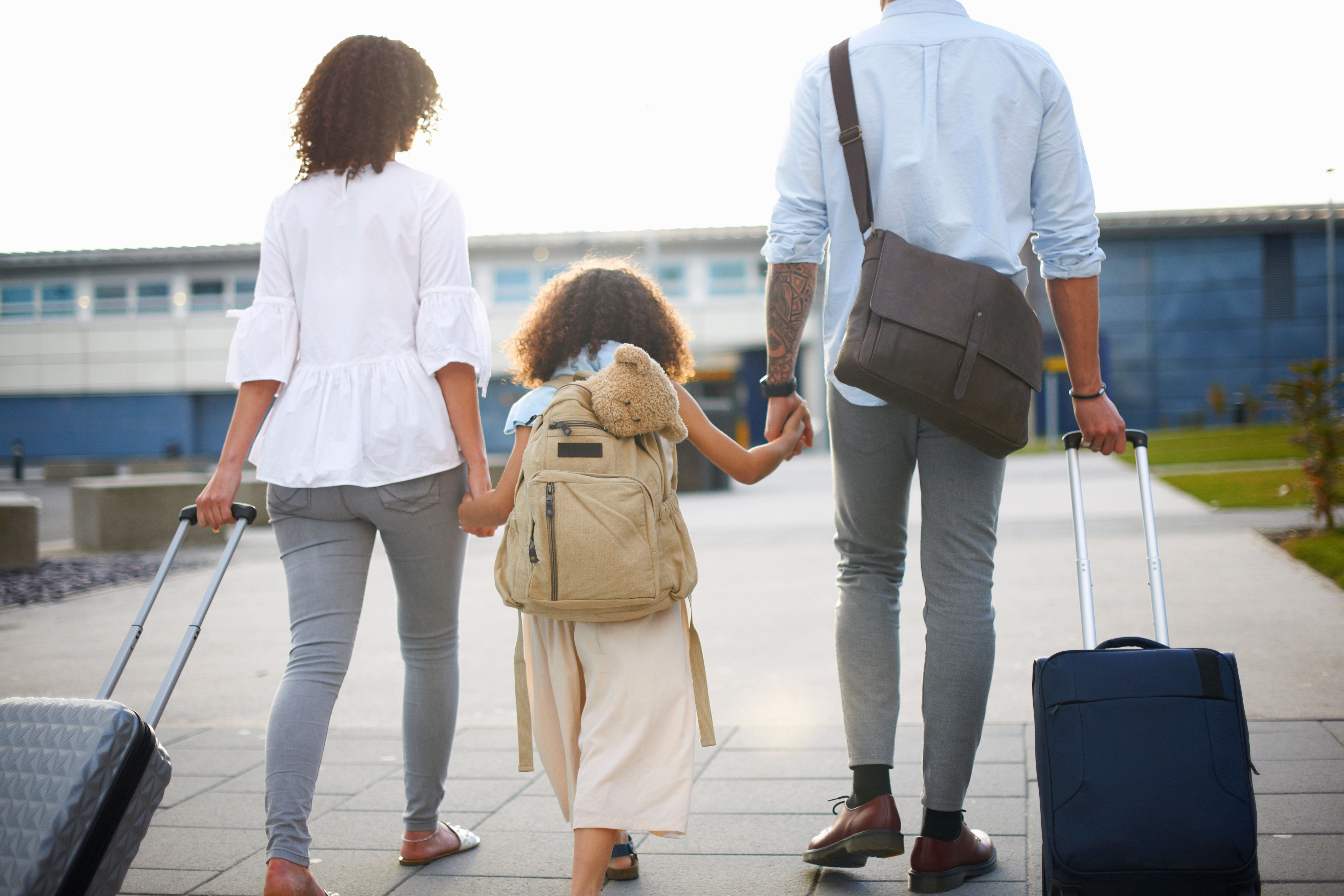 'It's Been Getting More Difficult': The Complexities Of Travelling With Kids When You Have Different