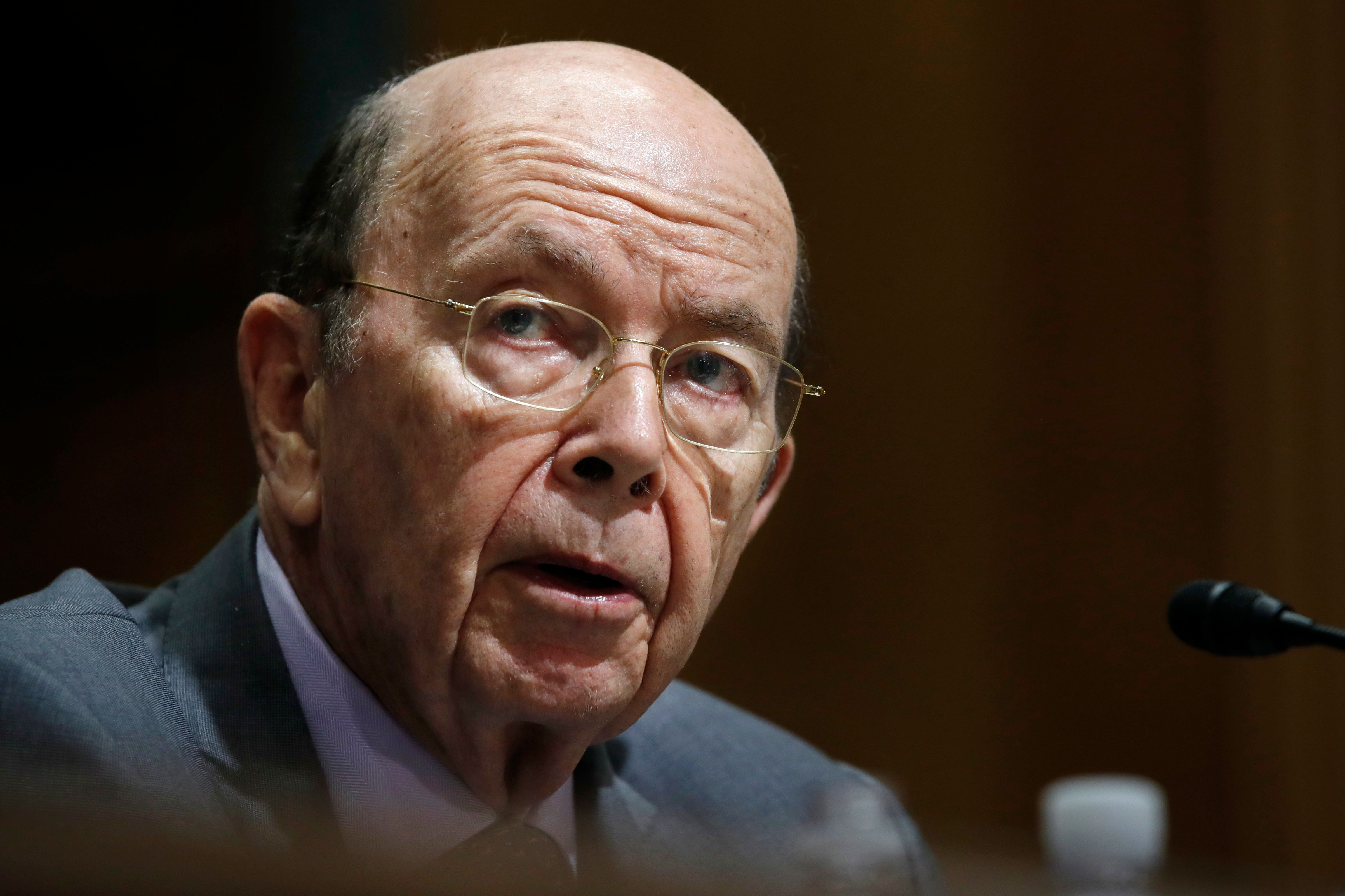 Secretary of Commerce Wilbur Ross speaks during a Senate Finance Committee hearing on tariffs, on Capitol Hill, Wednesday, June 20, 2018 in Washington. (AP Photo/Jacquelyn Martin)
