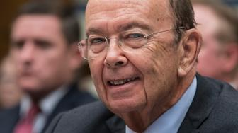 FILE - In this Thursday, Oct. 12, 2017, file photo, Commerce Secretary Wilbur Ross appears before the House Committee on Oversight and Government Reform to discuss preparing for the 2020 Census, on Capitol Hill in Washington. Newly leaked documents show that Ross has a stake in a shipping company that does business with a gas producer partly owned by the son-in-law of Russian President Vladimir Putin, according to the International Consortium of Journalists. (AP Photo/J. Scott Applewhite, File)