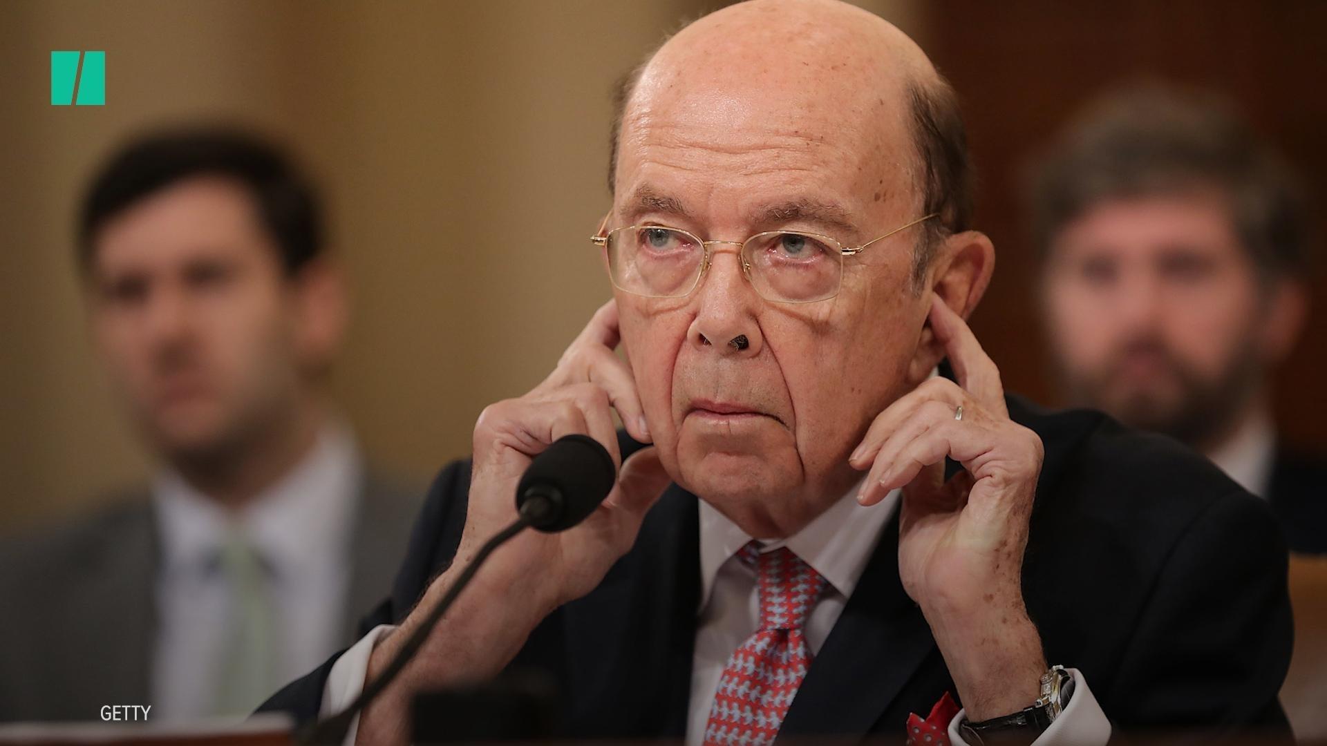 Secretary Of Commerce Wilbur Ross Doesn't Understand Shutdown Fuss