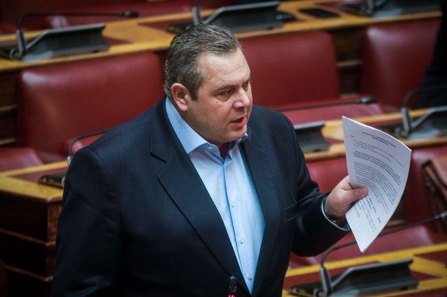 Παραίτηση βουλευτών για να μην περάσει η συμφωνία των Πρεσπών πρότεινε ο Πάνος