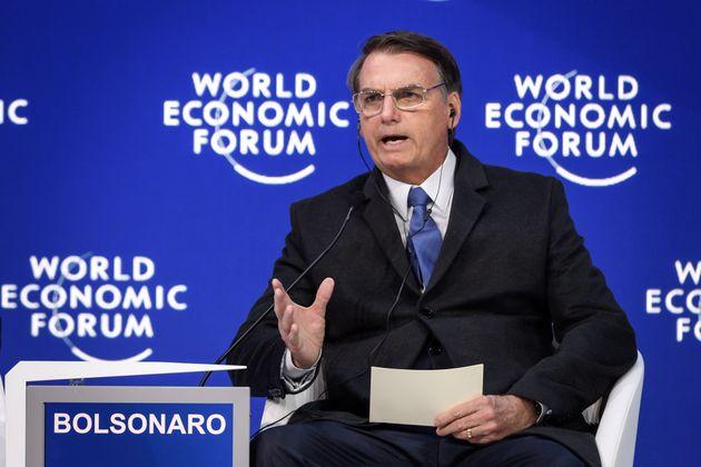Em Davos, Bolsonaro deixou a desejar no detalhamento de