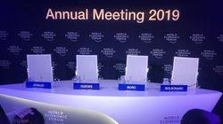 Os acertos e os erros de Bolsonaro em Davos, segundo dois