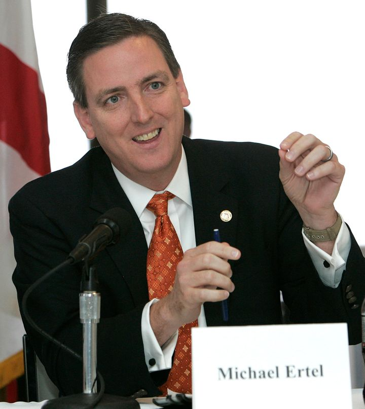 Michael Ertel, Florida's top elections official, abruptly resigned after a newspaper obtained pictures of him in blackface po