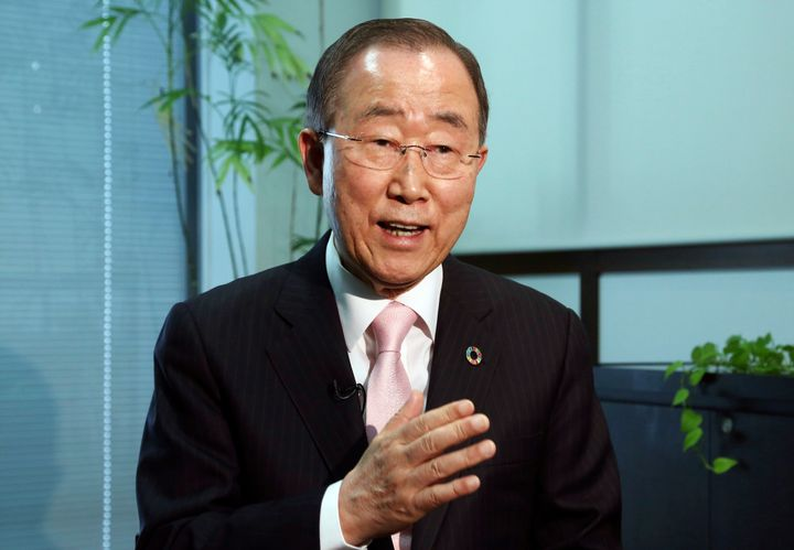 Ban Ki-moon promoted a global Green New Deal while secretary-general of the United Nations.