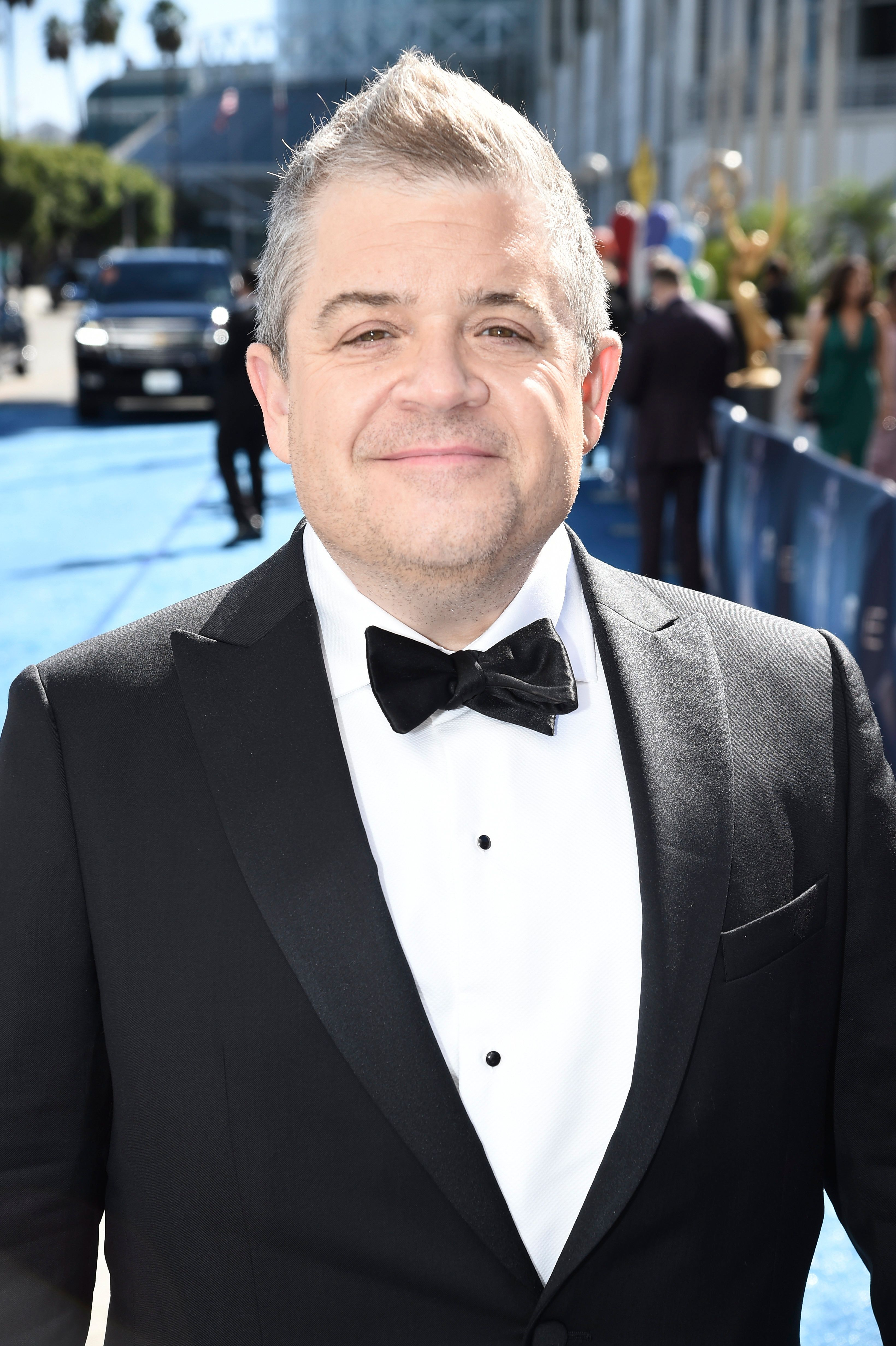 EXCLUSIVE - Patton Oswalt arrives at the 70th Primetime Emmy Awards on Monday, Sept. 17, 2018, at the Microsoft Theater in Los Angeles. (Photo by Dan Steinberg/Invision for the Television Academy/AP Images)