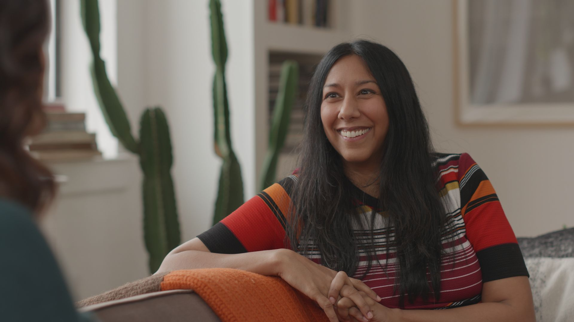 Reshma Gopaldas on the Between You & Me set in NYC for HuffPost