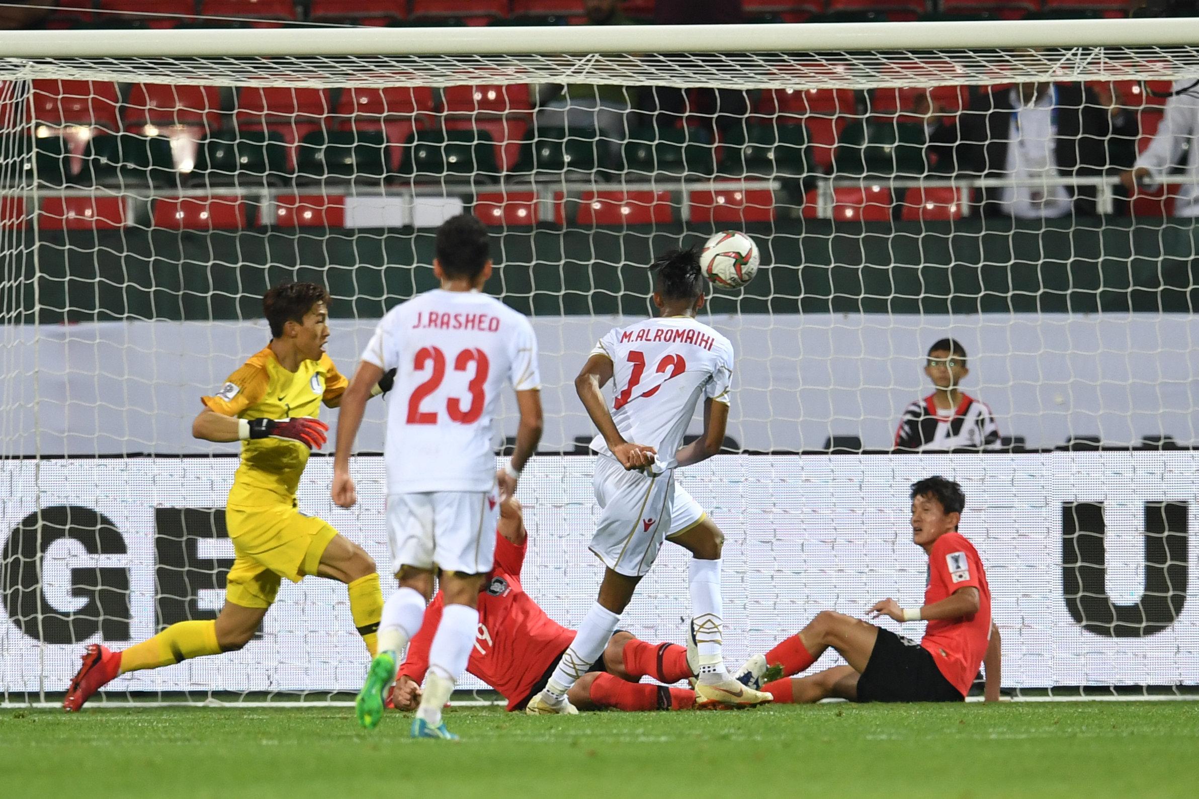 AFC 관계자가 바레인의 골이 '반칙'이었다고