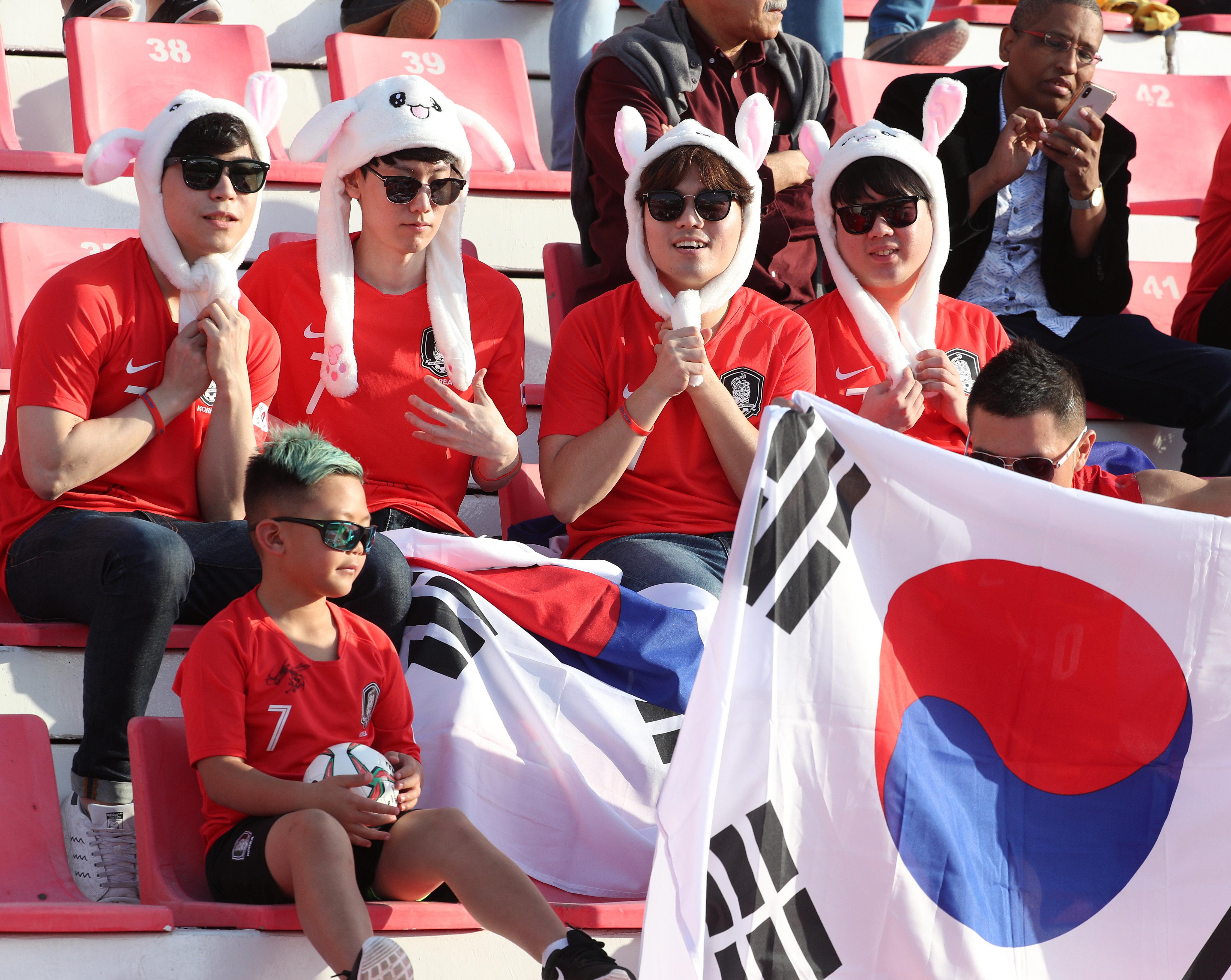 한국-카타르전 경기장에는 한국 응원만 가득할 것