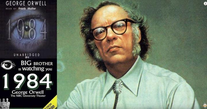 아이작 아시모프의 2019년 예측은 조지 오웰의 `1984' 출간 35주년을 기념해 이뤄졌다.Isaac Arthur 유튜브 계정 캡처.