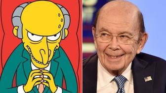 Mr. Burns. Wilbur Ross