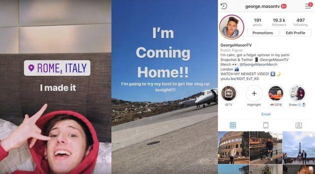 포토샵한 세계여행 사진으로 인스타그램이 '가짜 삶'을 보여주기 얼마나 쉬운지