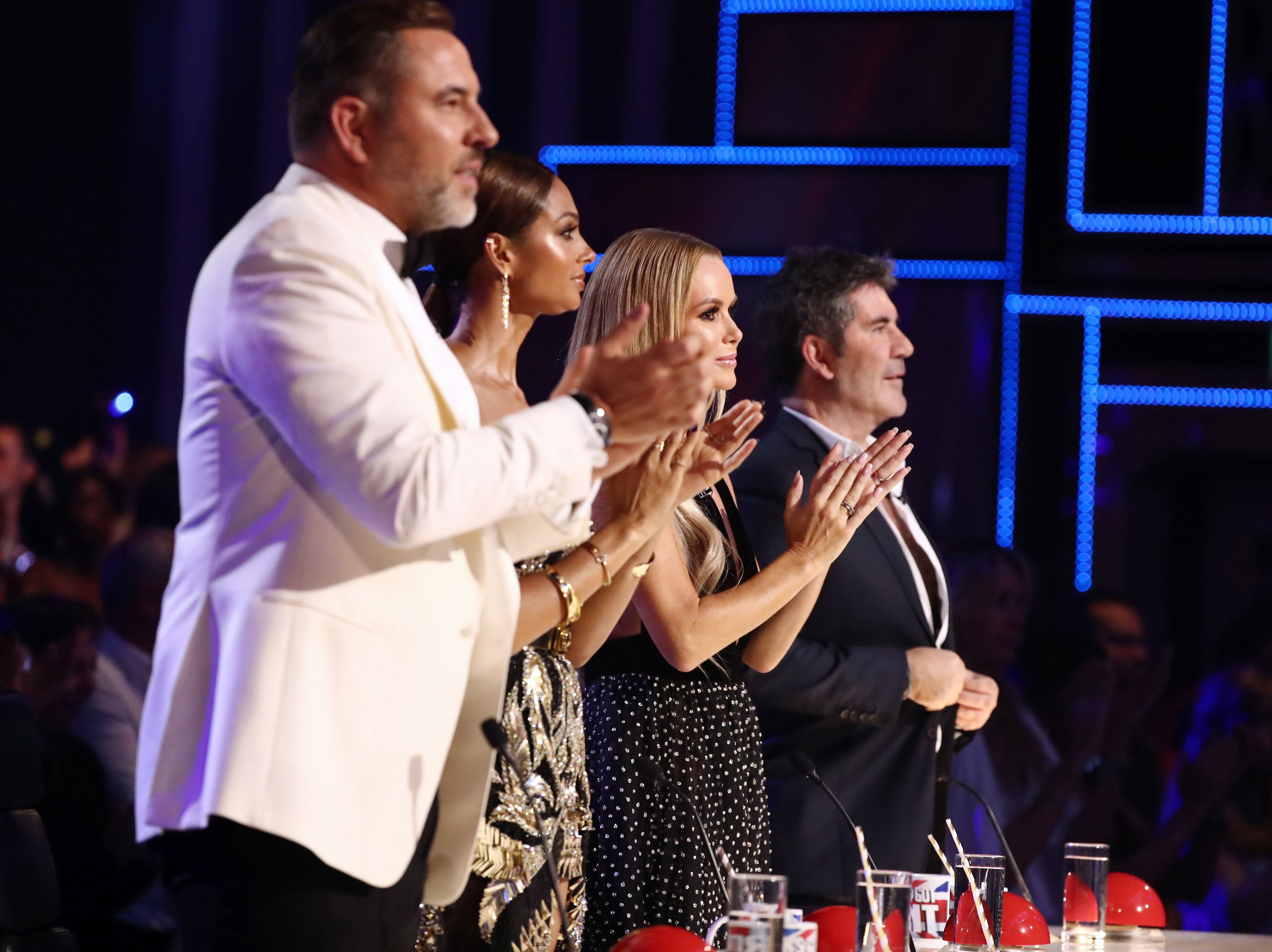 The 'BGT' panel during last year's