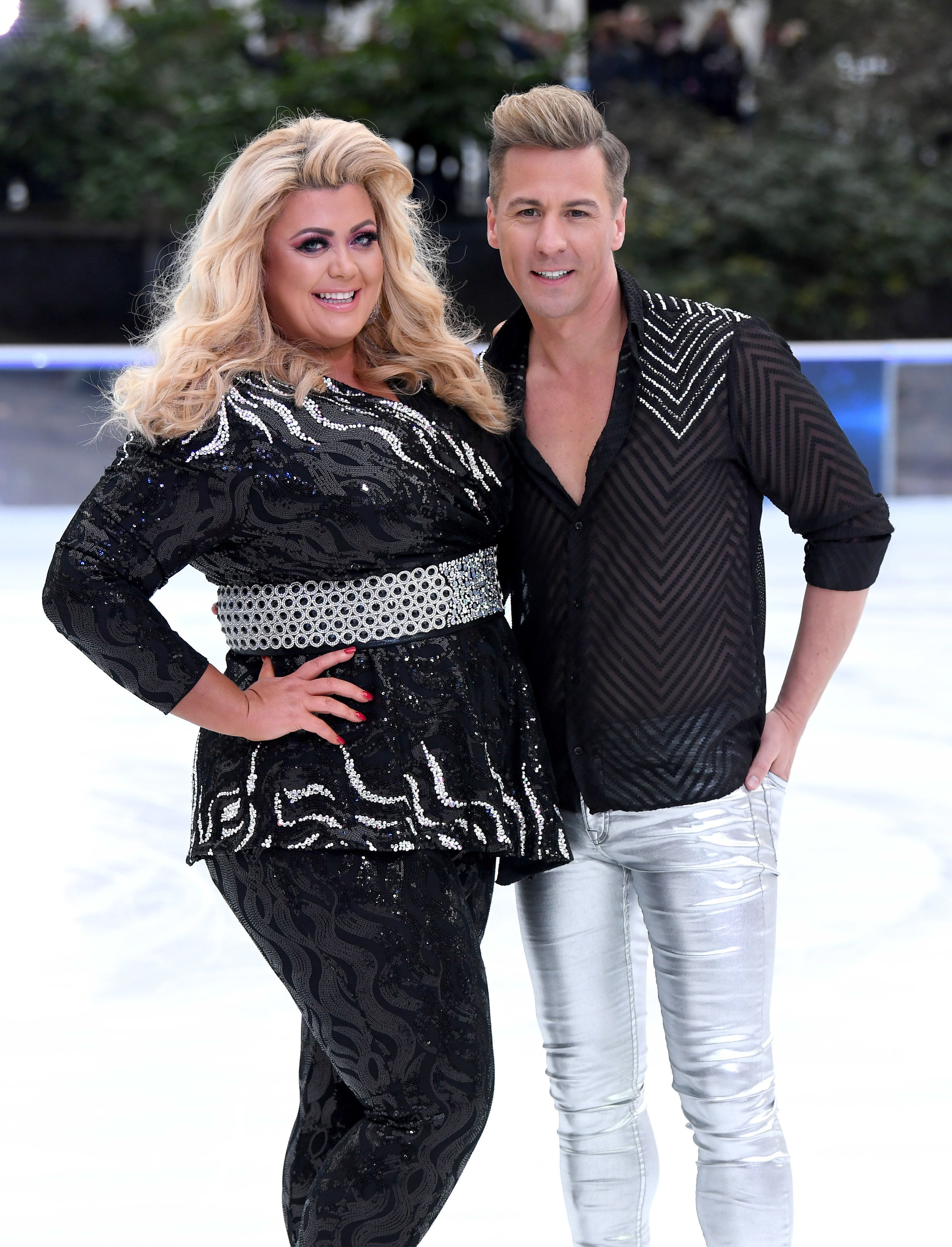 Gemma Collins' 'Dancing On Ice' Partner Matt Evers Teases 'Emotional' Live