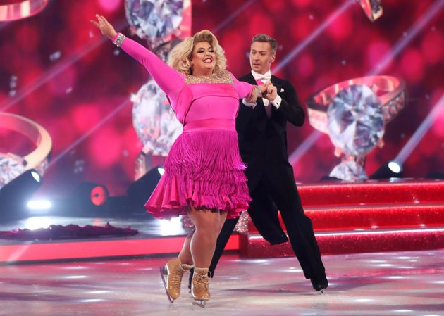 Last week, the judges said Gemma and Matt's routine didn't include enough actual