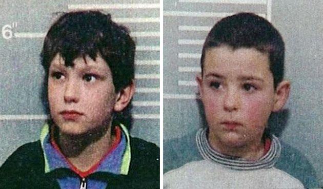 An injunction prevents the identification of killers Jon Venables andRobert Thompson, seen here...