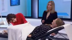 Chloe Delevingne Had A Smear Test Live On TV – And This Is