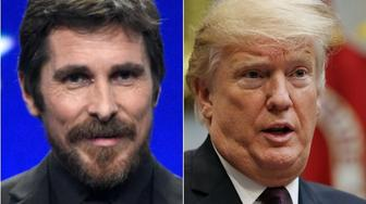 Christian Bale and Donald Trump