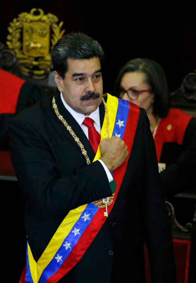 Nicolas Maduro was sworn in for a second term as president earlier this